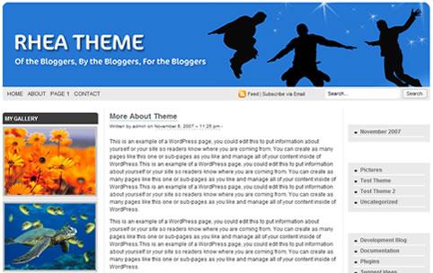 Wordpress Theme - Rhea V1.0