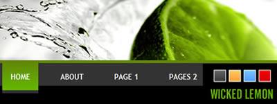 Wordpress Theme - Wicked Lemon