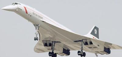 Concorde Plane Commercial Flight