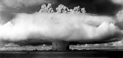 Nuclear Test in Pacific Ocean