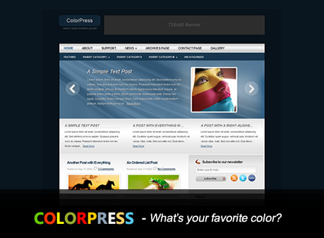 ColorPress - A Premium WordPress Theme