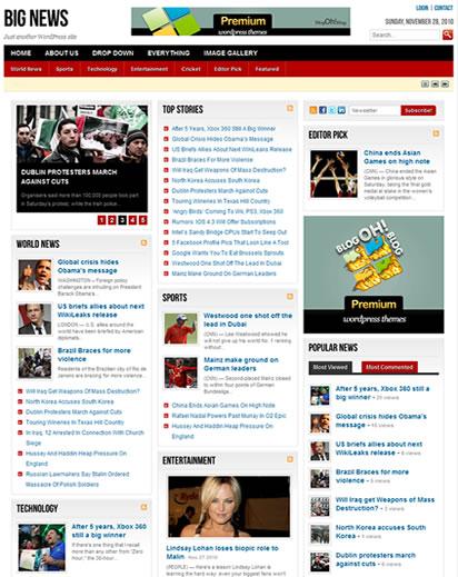 Big News - Premium WordPress Theme