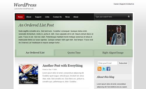 Dictum - Free WordPress Theme
