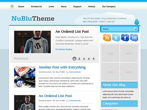 Nublu WordPress Theme