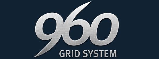 960 Grid CSS Framework