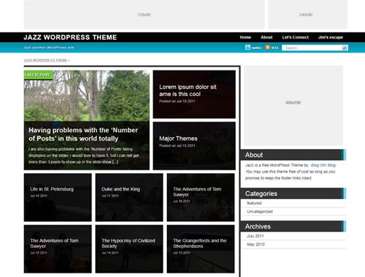 Jazz WordPress Theme