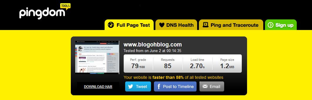 pingdom-website-speed-testing